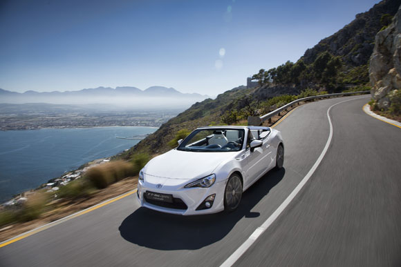Toyota FT-86 GT-86 Open Concept