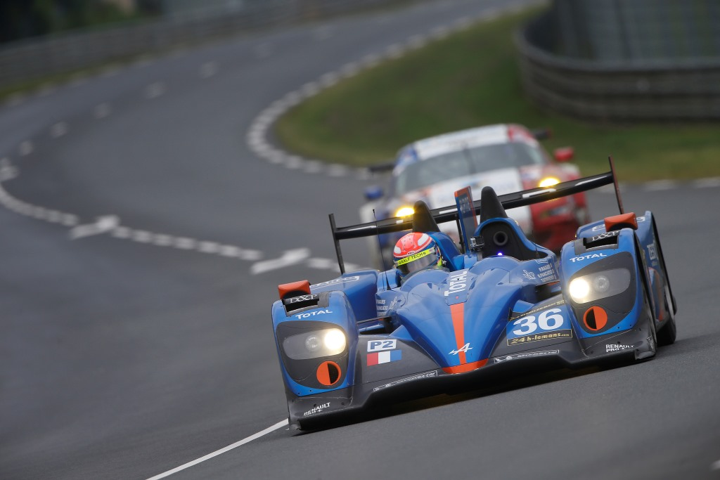ALPINE A450 24 HEURES DU MANS 2013 MOTORSPORT – WEC 2013 – WORLD ENDURANCE CHAMPIONSHIP 2013 – TESTS 24H DU MANS – CIRCUIT DES 24H DU MANS (FRA) – 08 TO 09/06/2013 – PHOTO FREDERIC LE FLOC'H / DPPI –