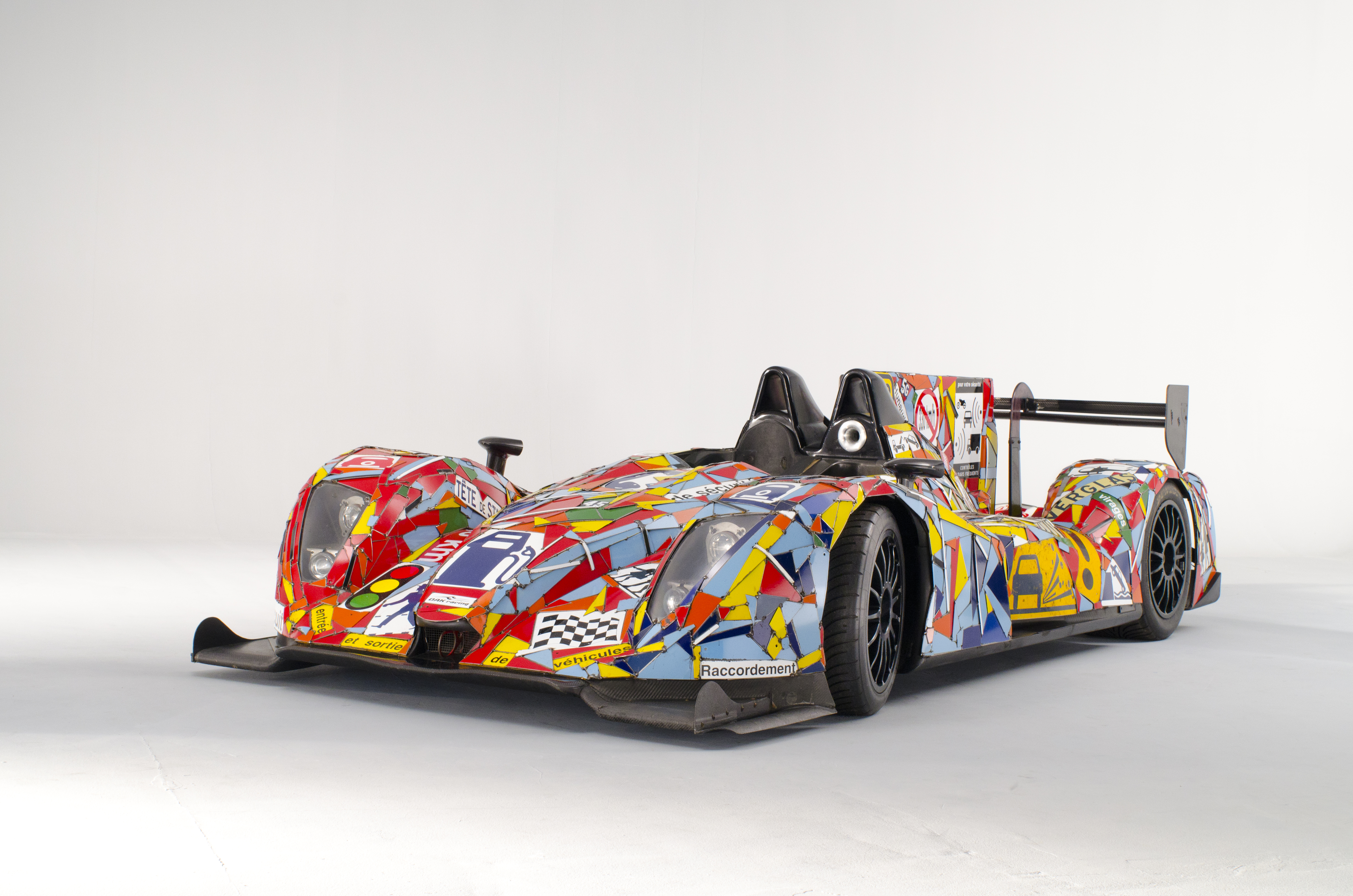 La Art Car de OAK Racing par Fernando Costa