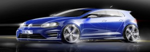 VW Golf R draft
