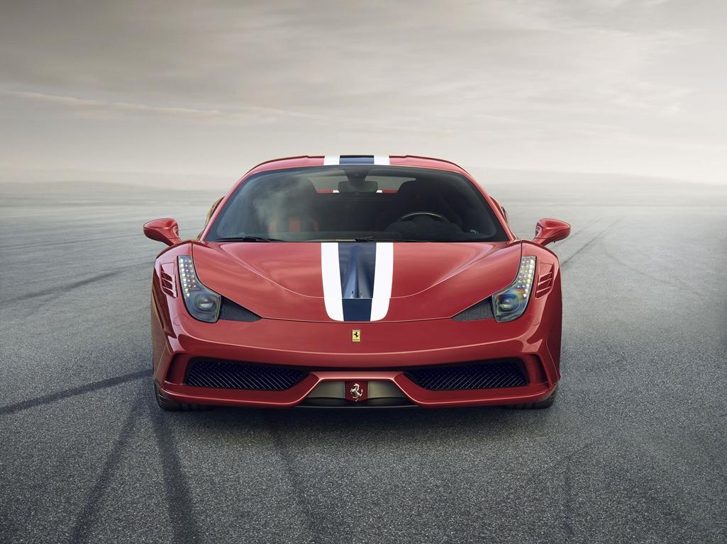 Ferrari 458 Speciale face
