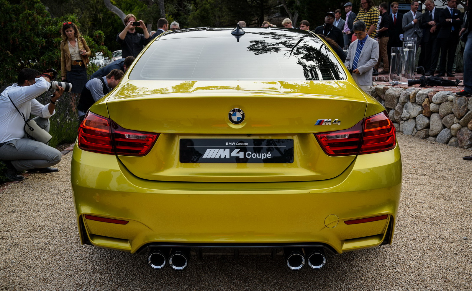 BMW M4 Concept Live Photos at Pebble Beach 2013