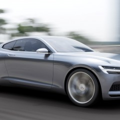 Volvo Coupé Concept : hommage hybride au P1800