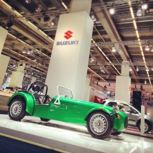 Caterham 7 165 Salon de Francfort 2013