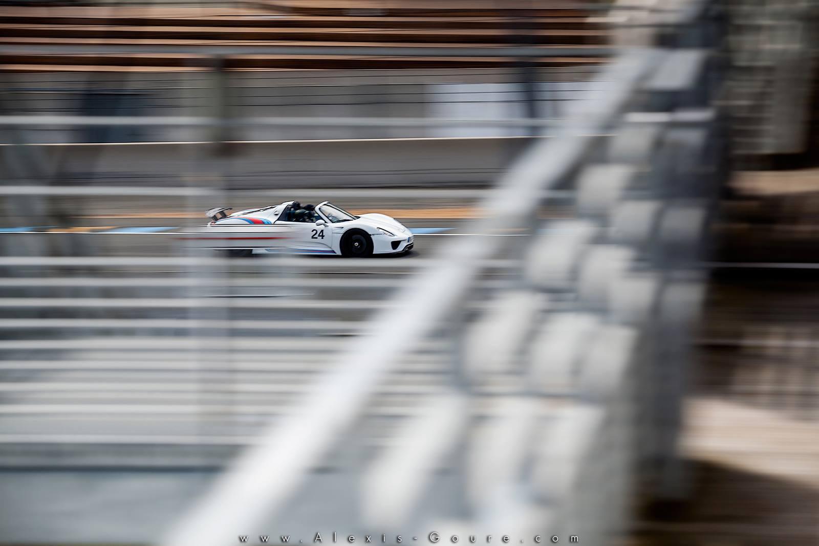 Porsche 918 Le Mans Bugatti – Porsche France – Alexis Goure Photographe