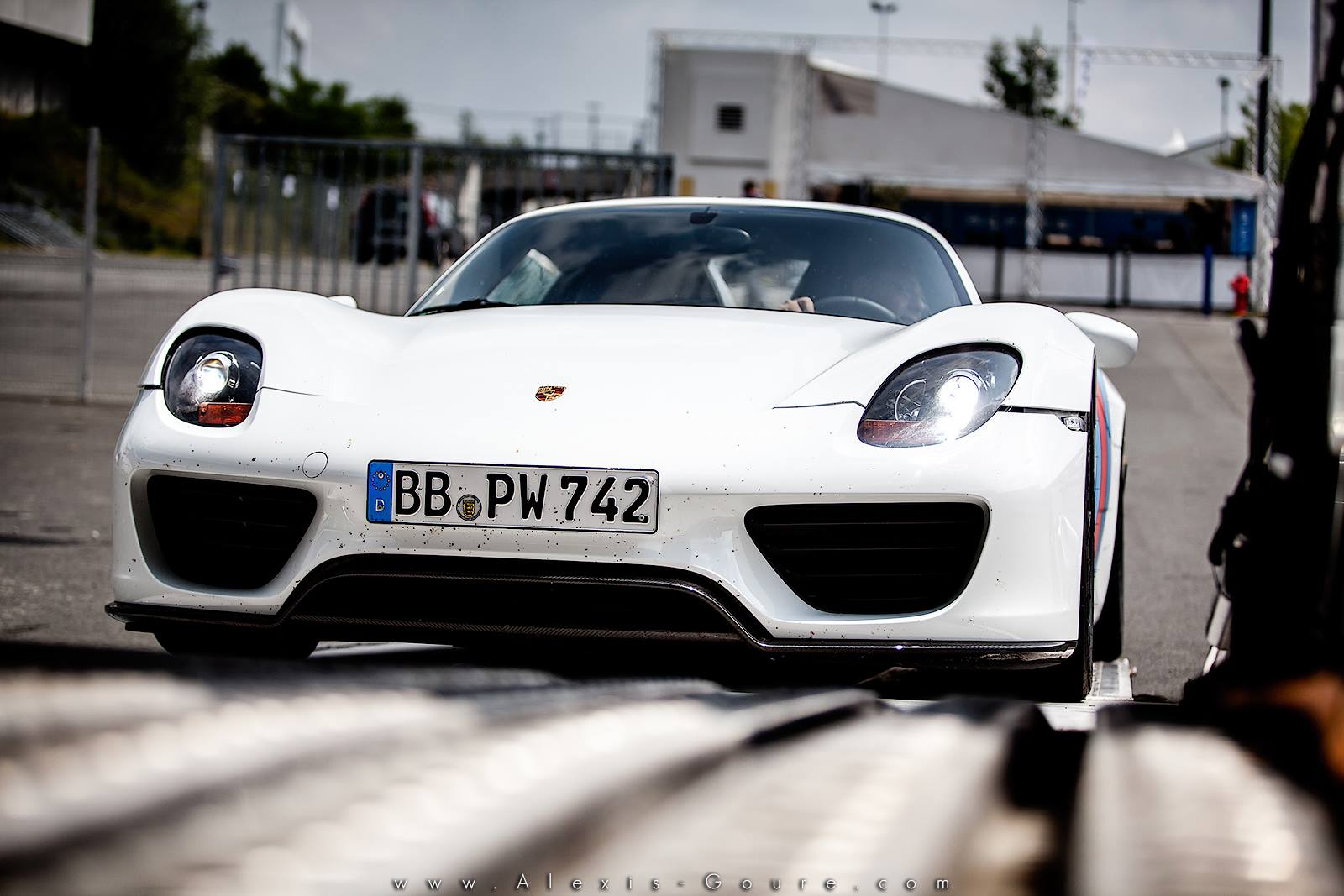 Porsche 918 Le Mans Bugatti - Porsche France - Alexis Goure Photographe