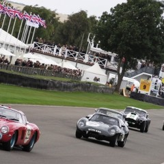 Goodwood revival 2013 : les autos en piste