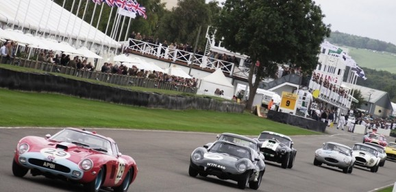 Goodwood revival 2013 : les autos en piste