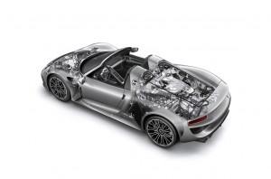Porsche 918 Salon de Francfort 2013