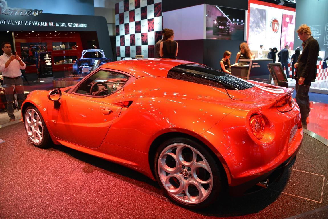 Francfort 2013 – Alfa Romeo 4C