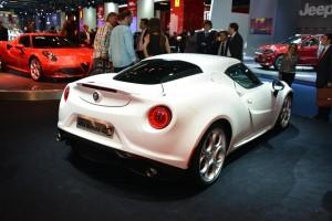 Francfort 2013 - Alfa Romeo 4C
