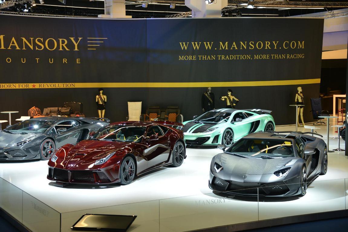 Francfort 2013 – Mansory