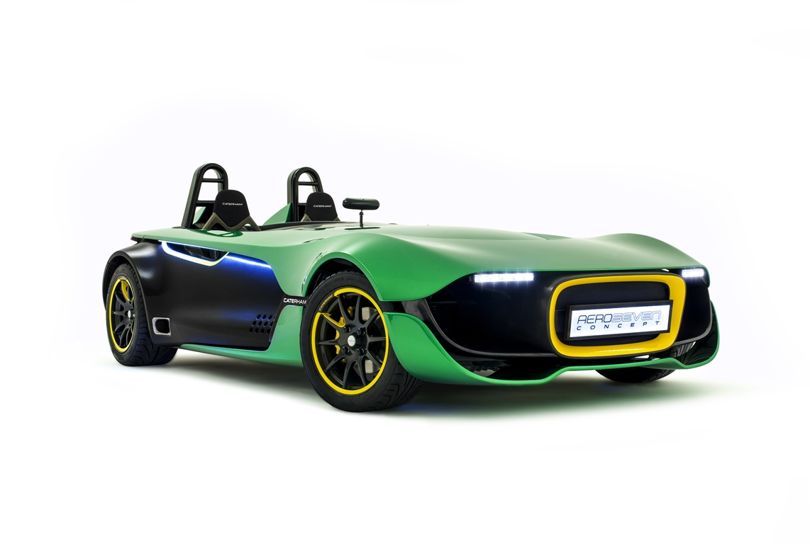 Caterham Aero Seven Front Three quarters