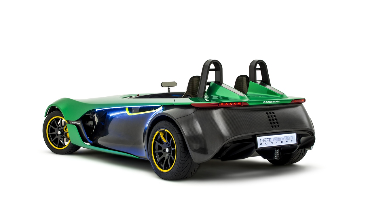 Caterham Aero Seven Rear Three quarters