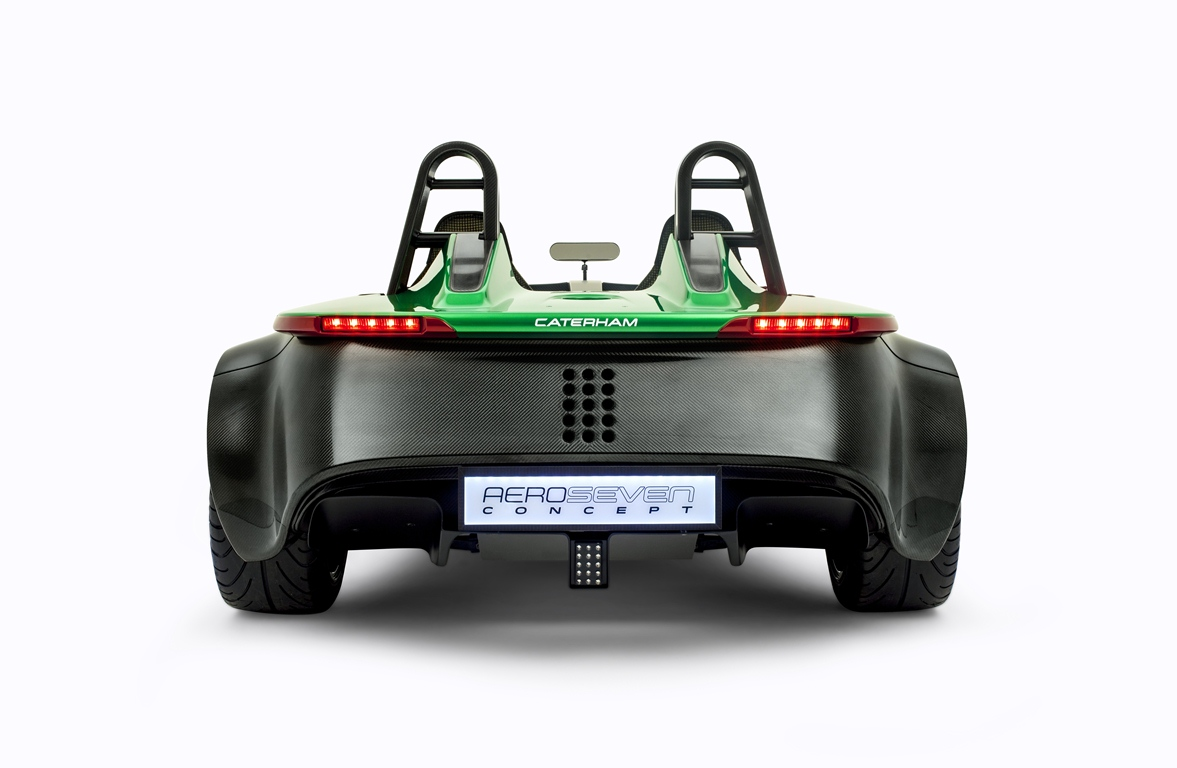Caterham Aero Seven Rear View