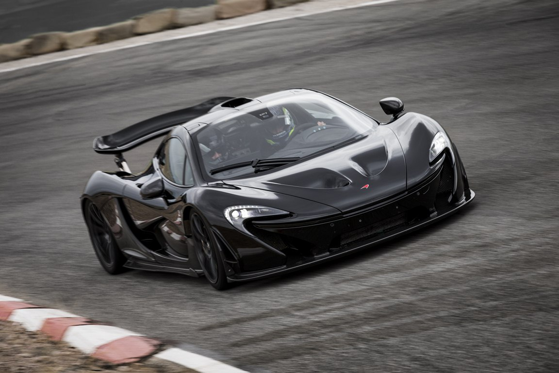 McLaren P1 extreme test Arizona