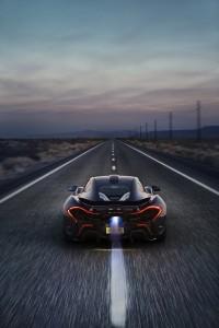 McLaren P1 extreme test Arizona