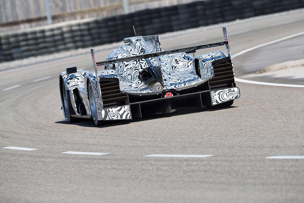 Porsche LMP1 WEC 2014