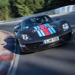 Porsche 918 : 6min 57sec au tour sur le Nurbugring Nordschleife