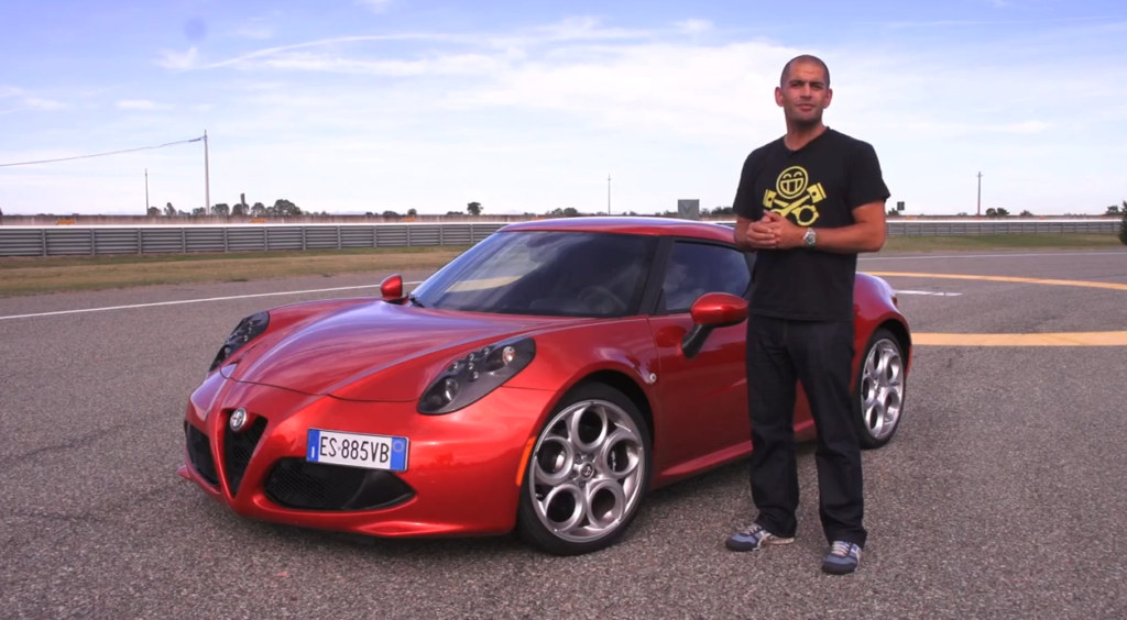 Chris Harris Alfa Romeo 4C