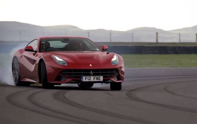Chris Harris Ferrari F12 Berlinetta
