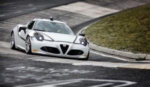 Alfa Romeo 4C Nurburgring 8min 04sec