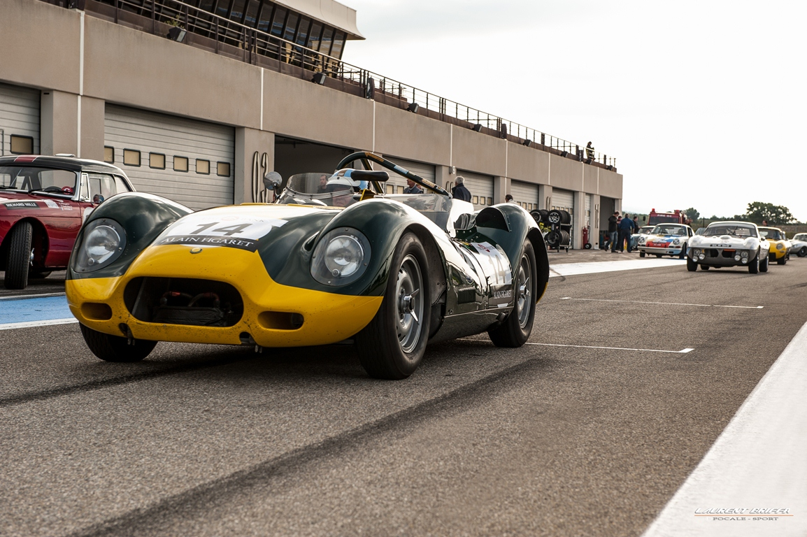 10000 Tours 2013 60's Endurance - Laurent Briffa - Lister Jaguar Knobbly