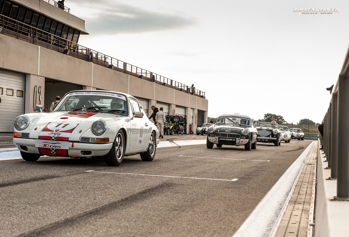 10000 Tours 2013 60's Endurance - Laurent Briffa - Porsche 911 , MG B , Austin Healey 100M