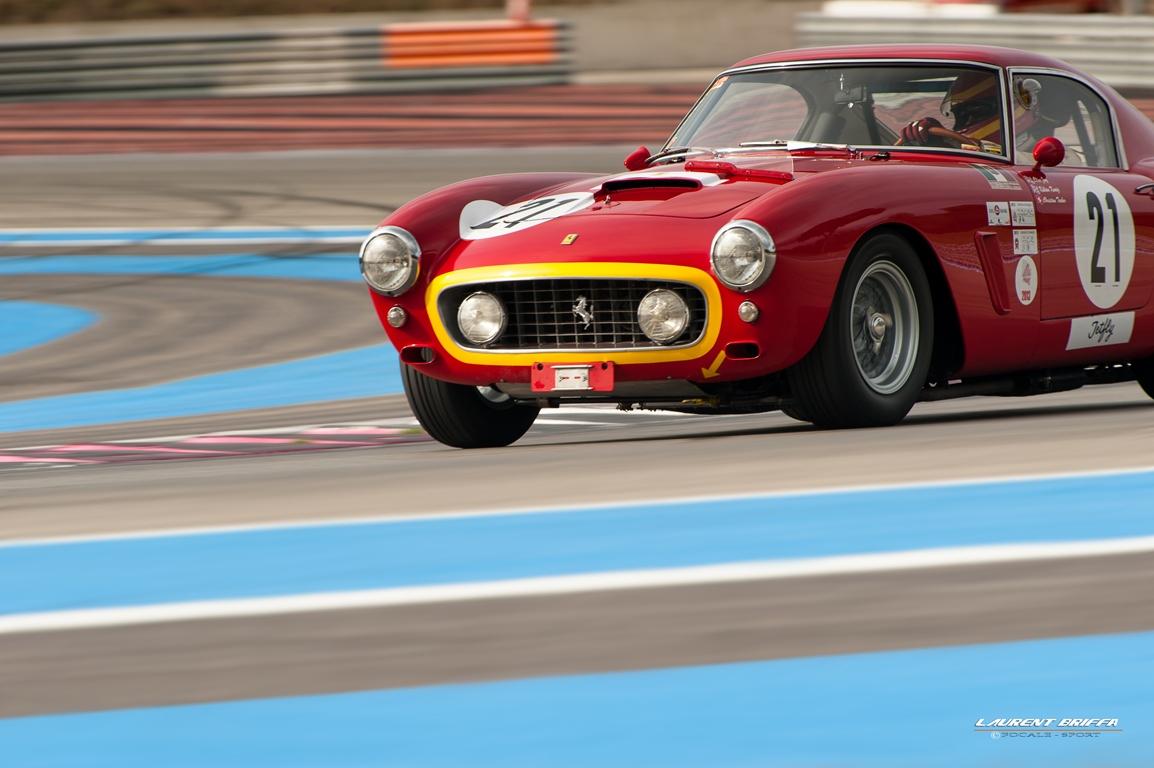 10000 Tours 2013 Trofeo Nastro Rosso - Laurent Briffa - Ferrari 250 GT Berlinetta