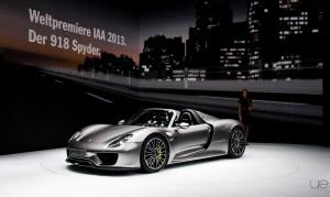 Salon de Francfort - Porsche 918
