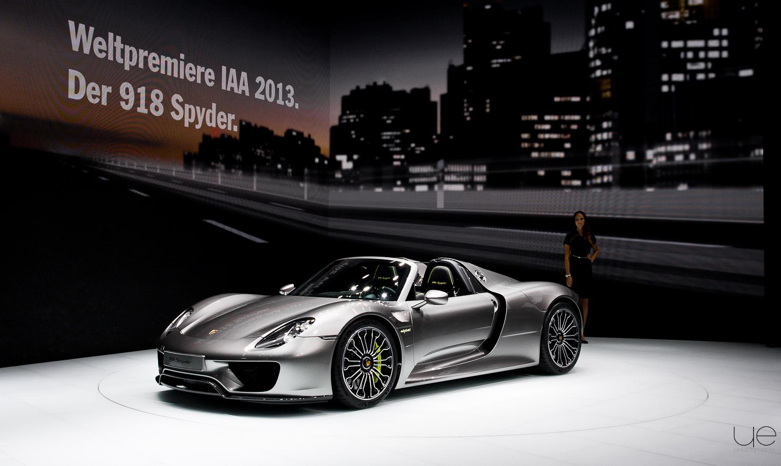 Salon de Francfort – Porsche 918