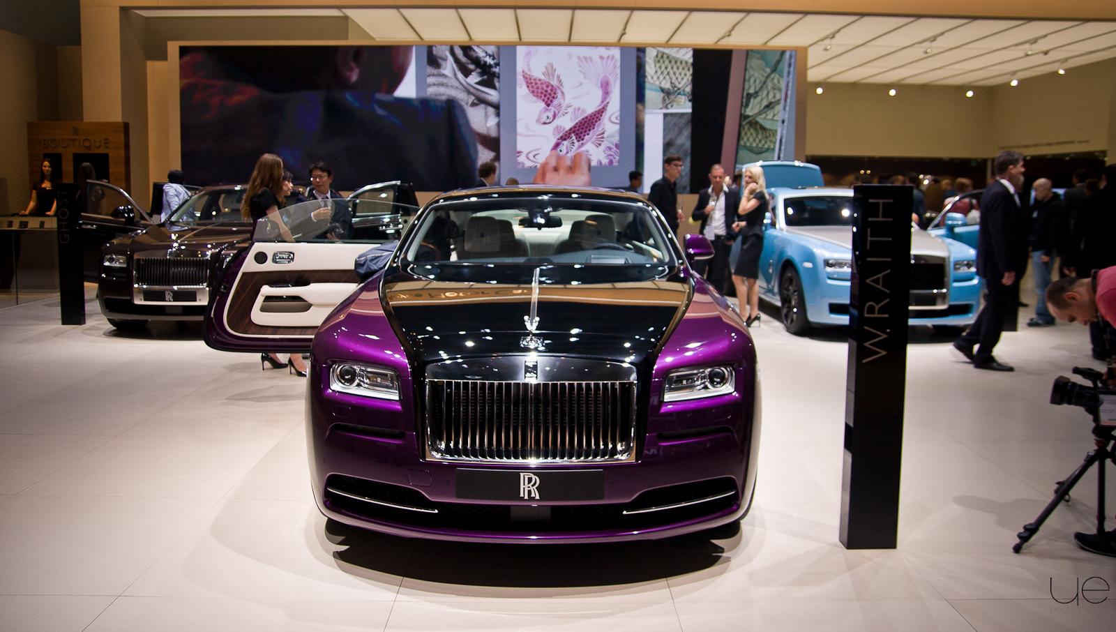 Salon de Francfort – Rolls Royce