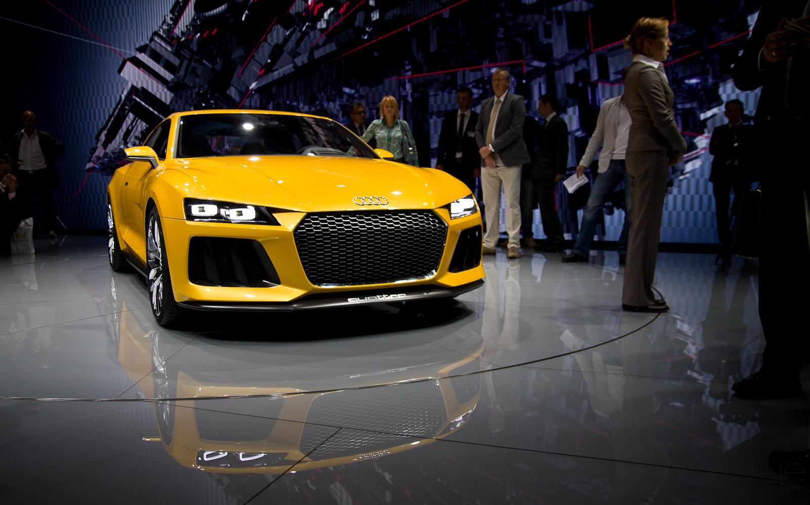Salon de Francfort – Audi