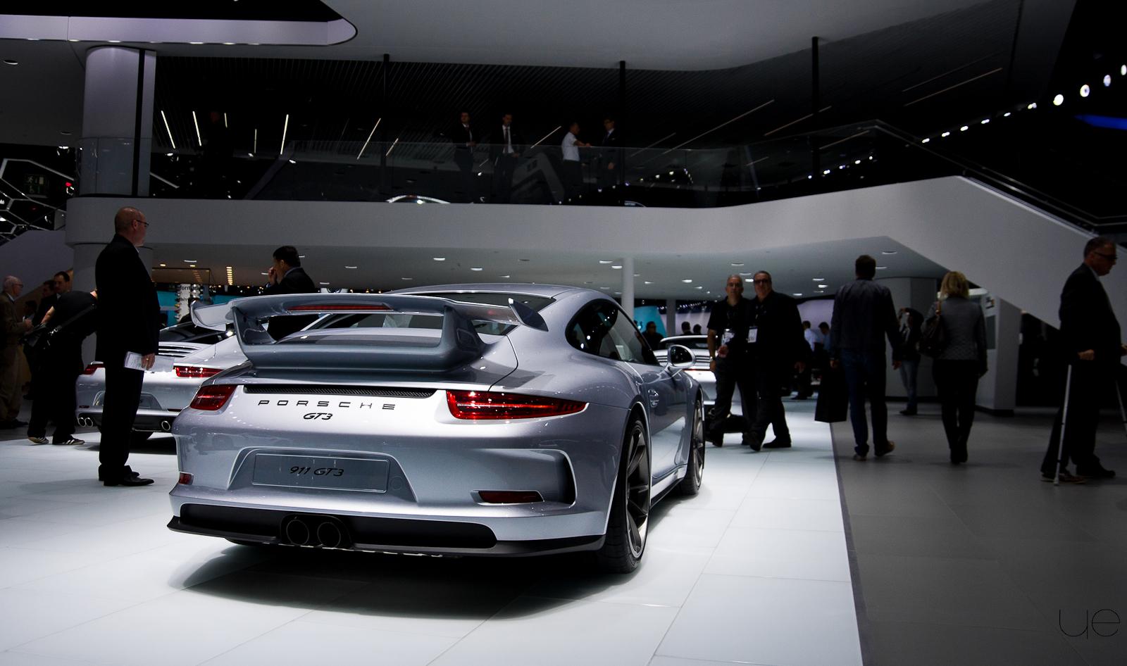 Salon de Francfort – Porsche 911 GT3