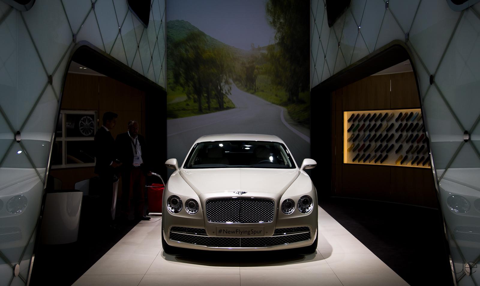 Salon de Francfort – Bentley