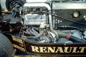 Renault EF1 V6 Turbo 1.5L châssis Lotus