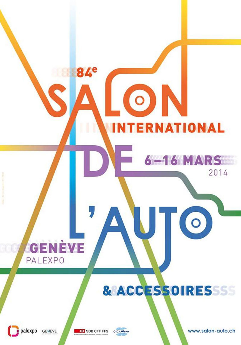 Salon de Genève 2014 - Affiche - Fermin Guerrero