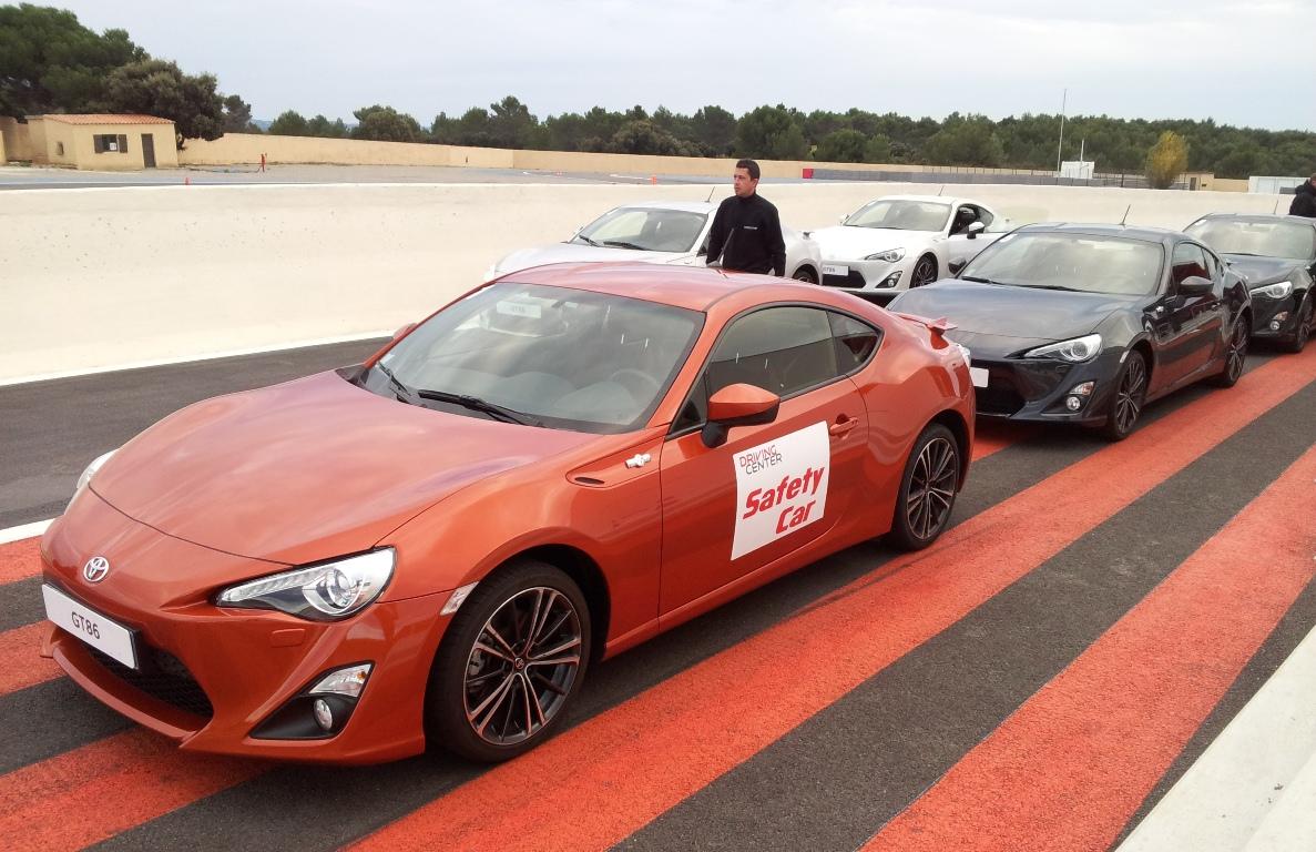 Toyota GT86 driving experience drive center Oreca circuit du Castellet Paul Ricard HTTT