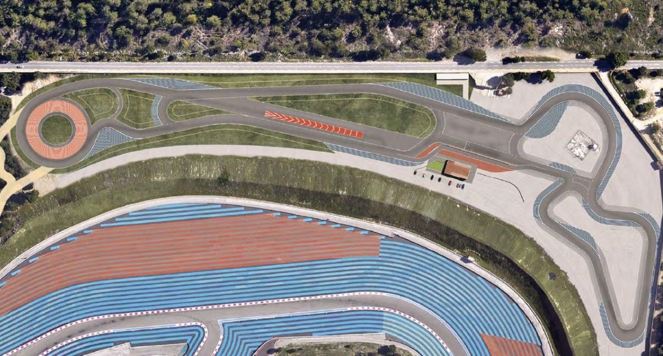 Drive center Oreca circuit du Castellet Paul Ricard HTTT