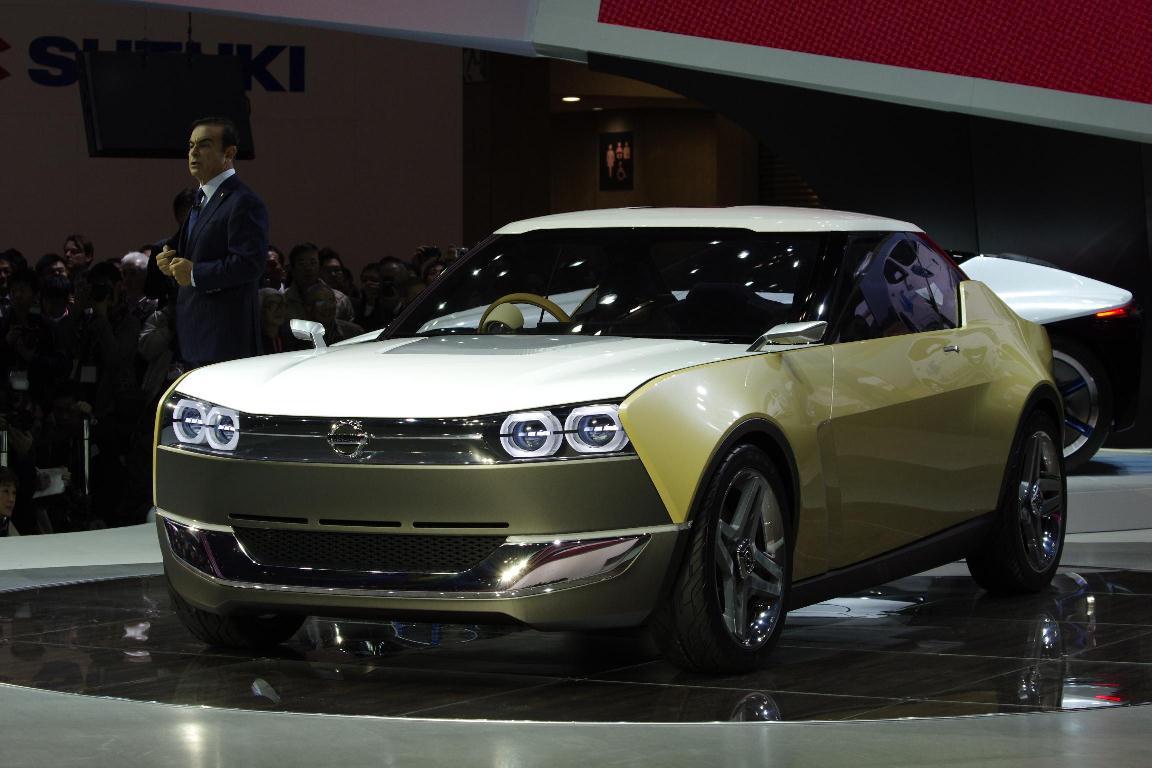 Salon de Tokyo 2013 – Nissan iDX FreeFlow