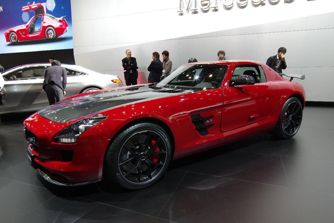 Salon de Tokyo 2013 – Mercedes AMG GT Final Edition