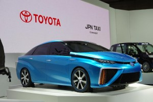 Salon de Tokyo 2013 - Toyota FCV Concept