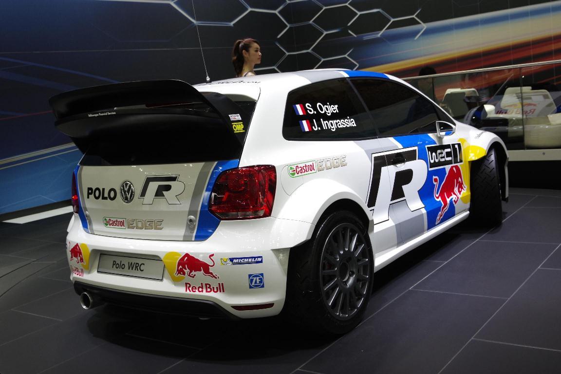 Salon de Tokyo 2013 – VW Polo WRC Sébastien Ogier