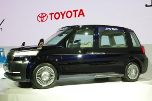 Salon de Tokyo 2013 - Toyota Taxi JPN