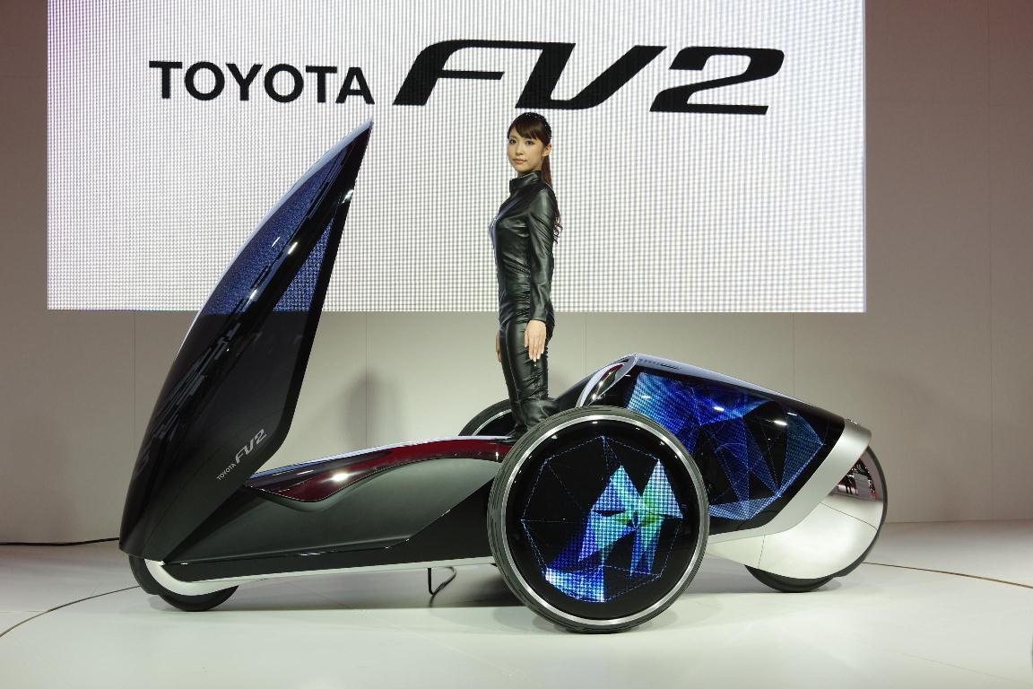 Salon de Tokyo 2013 – Toyota FV2