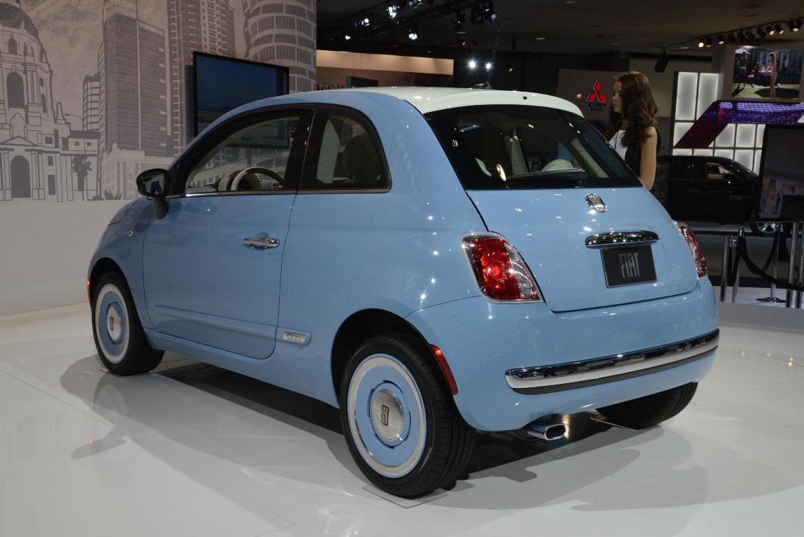 Los Angeles Auto Show 2013 - Fiat 500