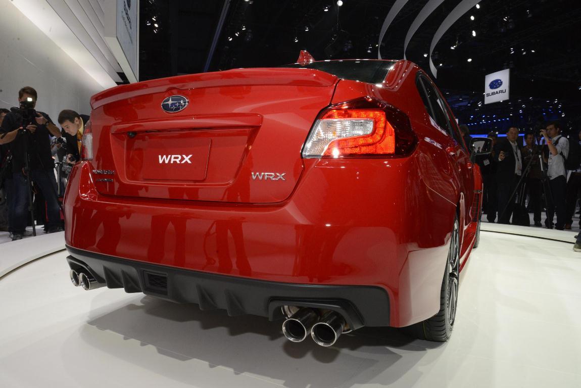 Los Angeles Auto Show 2013 – Subaru WRX