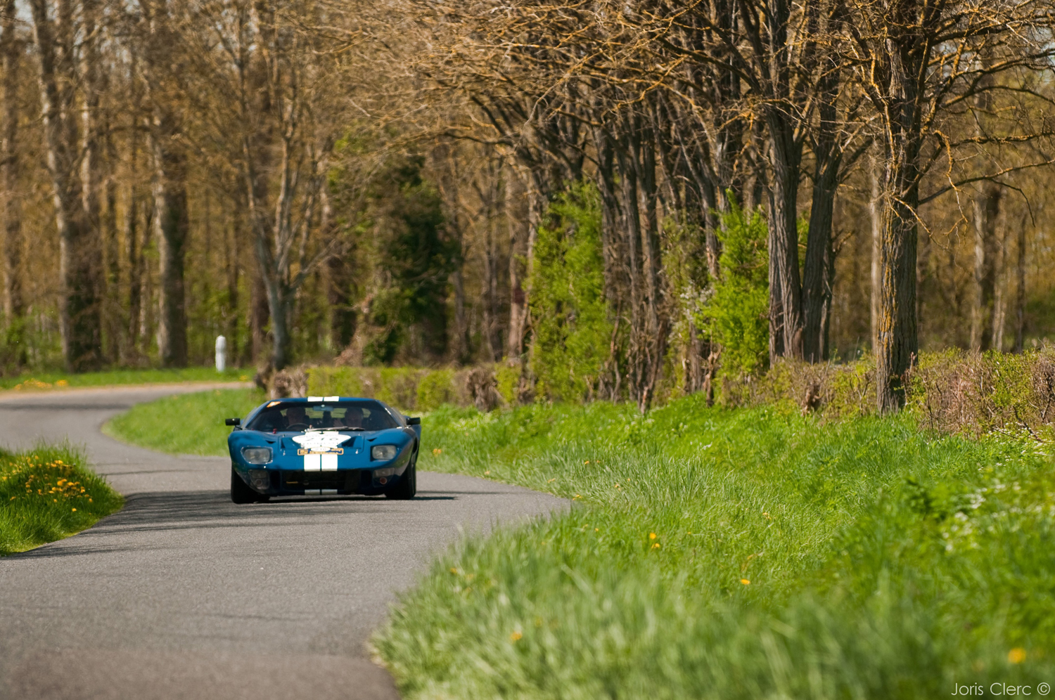 Tour Auto 2013 Optic 2000 - Joris Clerc - Ford GT 40