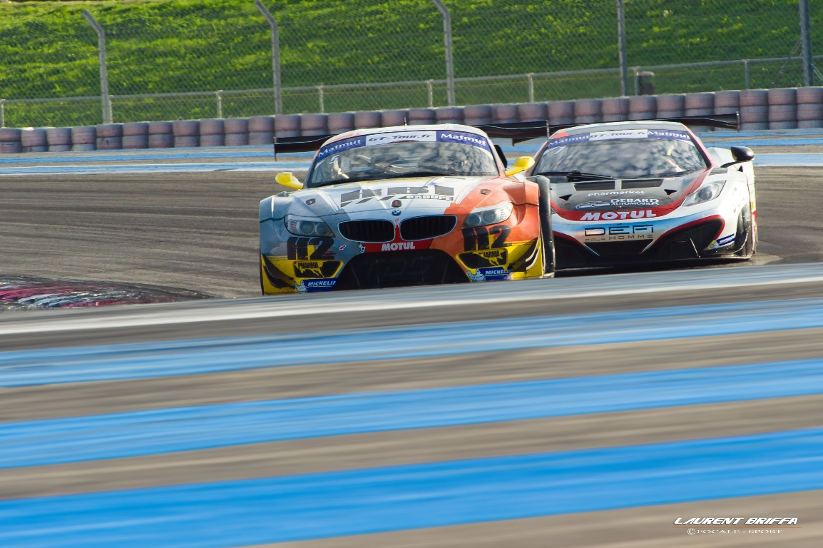 GT Tour 2013 - FFSA GT - BMW Z4 TDS Racing vs McLaren MP4-12C Hexis Racing - Laurent Briffa