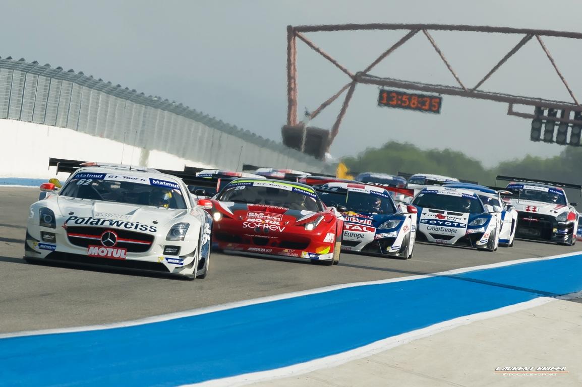 Ligne de départ FFSA GT Tour 2013